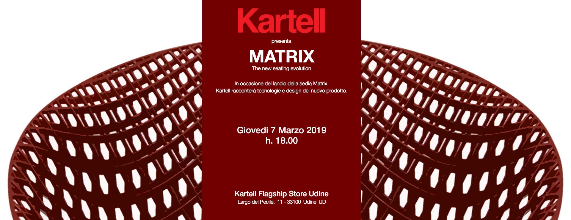 Udine Design Week Presentazione Matrix